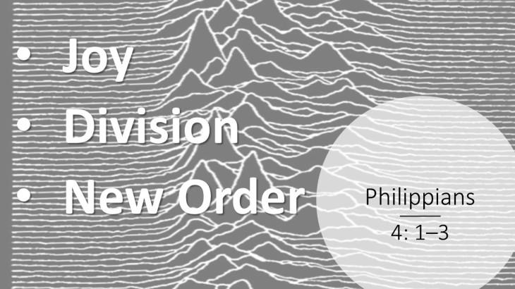 Philippians 4 vv 1 to 3 17th Feb 2019